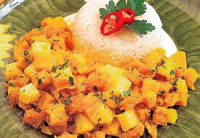 Cau cau de pollo peruvian food cau cau de pollo forumfinder Choice Image